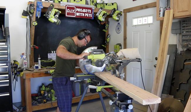 DIY Pete miter saw